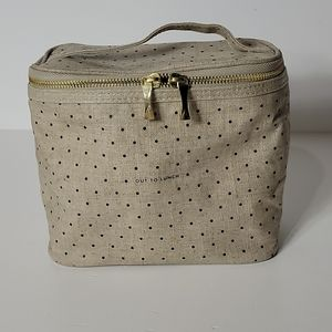 """Kate Spade """"Out To Lunch"""" Polka Dot Insulated Tote"""